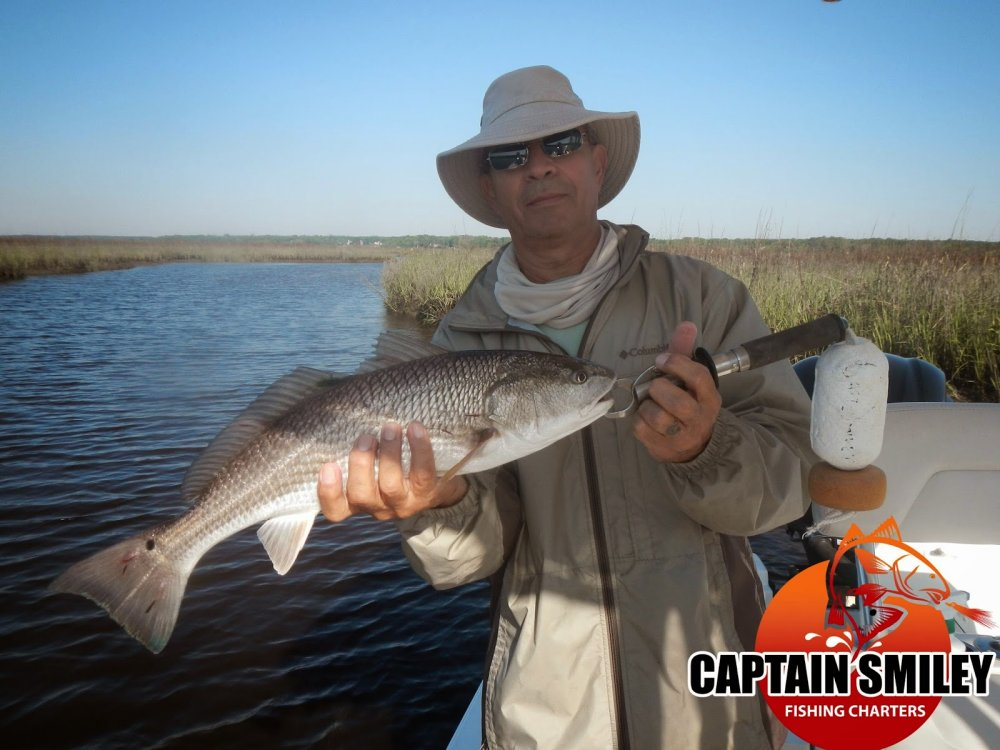 Captain smiley fishing charters myrtle beach inshore for Fishing charters myrtle beach